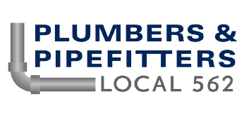 plumbers and pipefitters local 562 logo 1
